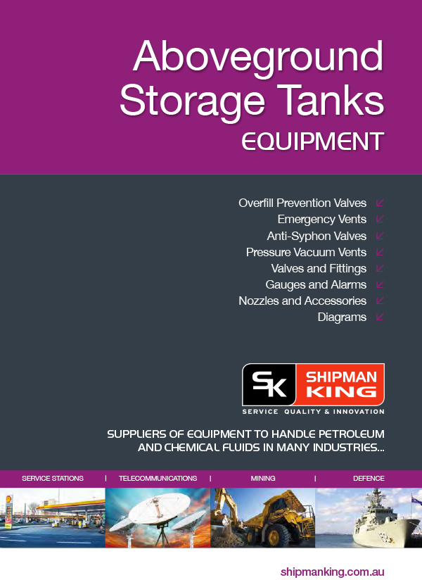 Aboveground Storage Tank Equipment Catalogue