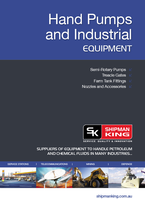Hand Pumps and Industrial Equipment Catalogue