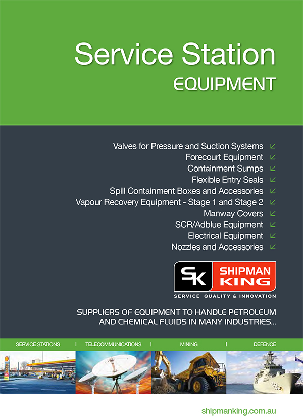 Service Station Equipment Catalogue